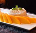 Dessert mangue-riz